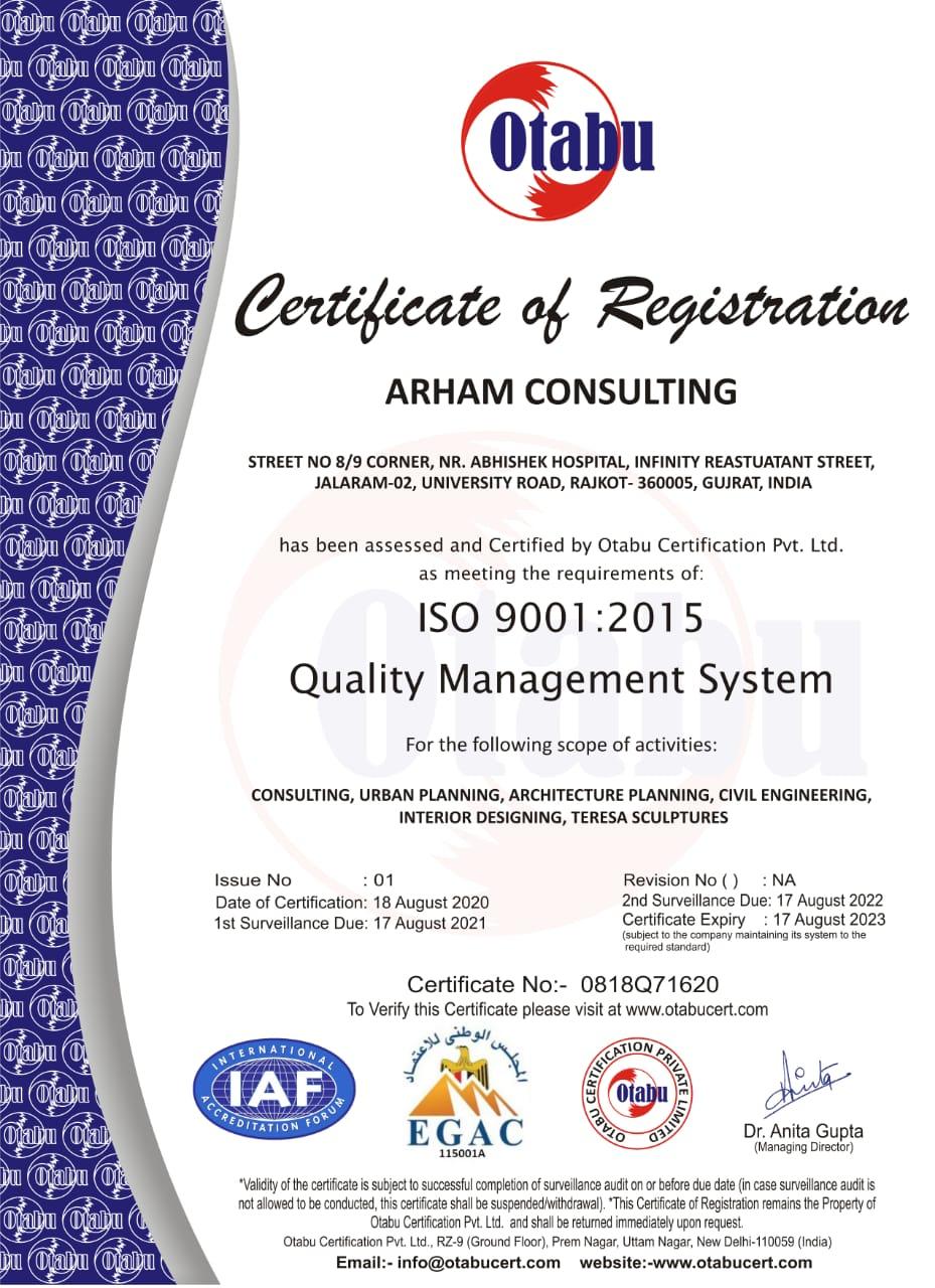 An ISO 9001:2015 Company