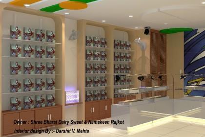 Interior Bharat Dairy