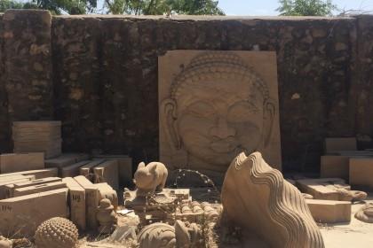 Jain Derasar and Upasrya Dhangdhra Stone Mine